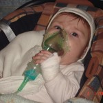 5. W moje pierwsze Boże Narodzenie bardzo się rozchorowałem. Sylwestra spędziłem w szpitalu, ale jak widzicie trzymałem się dzielnie